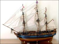 HMAV Bounty Ship Model (1787 GB)|Large Size