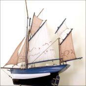 Marie Jeanne Fishing Model Boat (France)