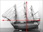 large HMS Victory Model museum quality ship model