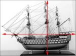 Model of HMS Victory first rate