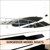 SUNSEEKER MODEL BOAT