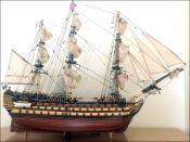 HMS Victory Ship Model|Large Size|Sails Opened
