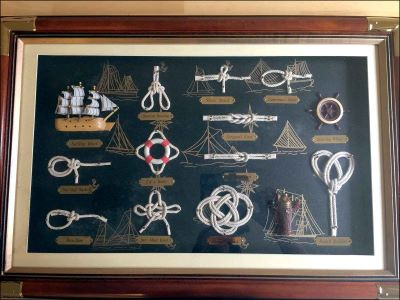 Nautical Knot Board|Large Size