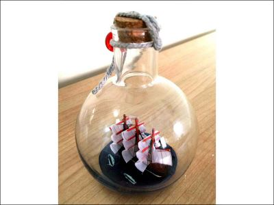 Ship in a Bottle|Small Size