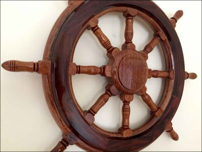 Ship Wheel – Small Size