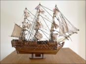HMS Victory Ship Model Small Size