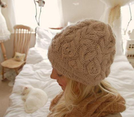 Parseltongue Hat Pattern  by Tiny Owl Knits