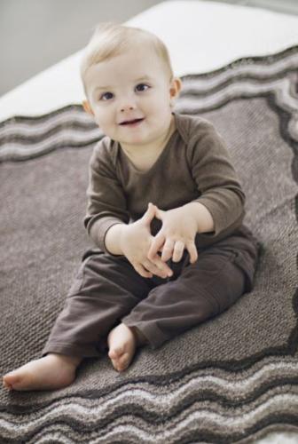 Tweed Baby Blanket Pattern Booklet