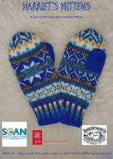 Harriet's Mittens, Gloves & Fingerless Gloves Patterns