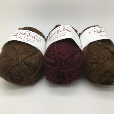 KnitPicks Shine Worsted - 3 balls