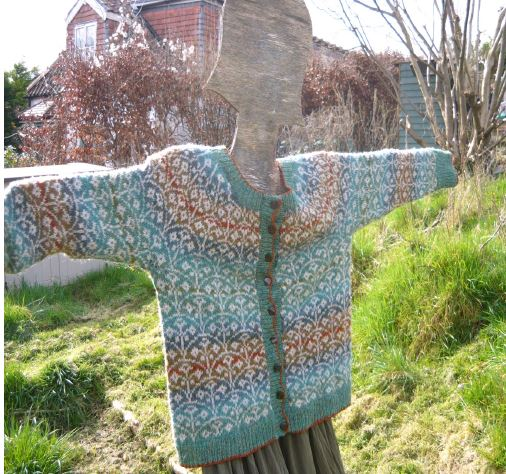 Flower Beds Cardigan Pattern