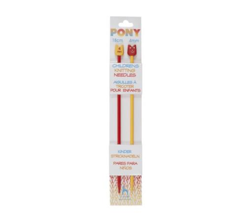Pony Children's Knitting Needles - Plastic