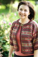 Hibiscus Cardigan by Anne Featonby