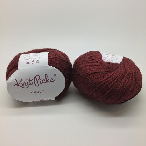 KnitPicks Galileo shade Quartz