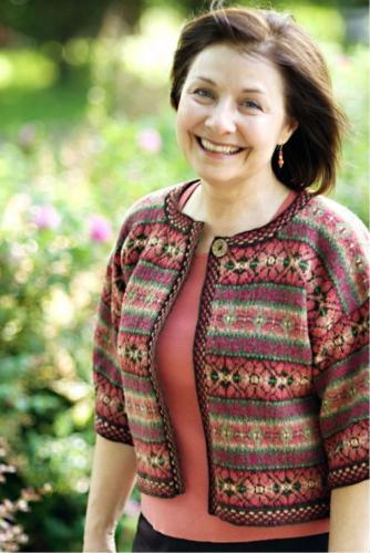 Hibiscus Cardigan Kit by Anne Featonby