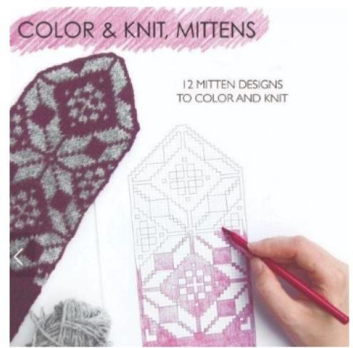 Colour & Knit Mitts by Aleks Byrd