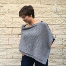 Diamond Poncho Pattern by Deborah Cowell