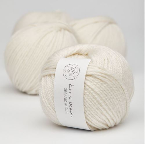 Krea Deluxe Organic Wool 1 - Fingering Weight