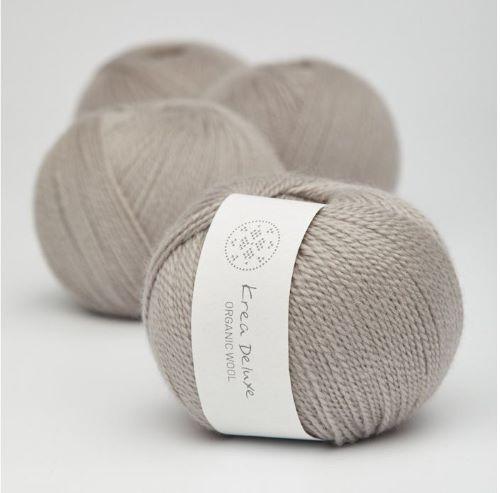Krea Deluxe Organic Wool 1 - Fingering Weight