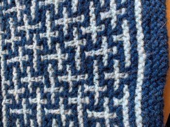 Mosaic Garter Shawl
