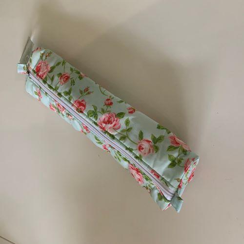 Knitting Needle Case - Flowers