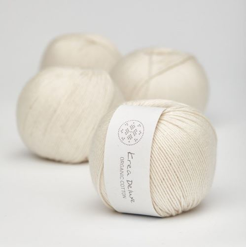 Krea Deluxe Organic Cotton - Fingering Weight