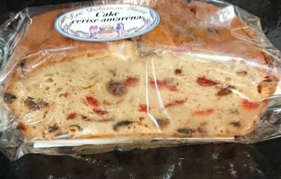 Cake à la cerise amaréna