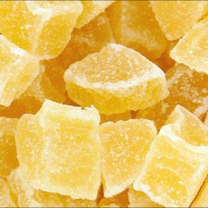 Ananas cube déshydratés
