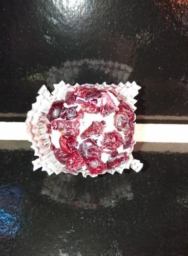 Chevre enrobé aux cramberry