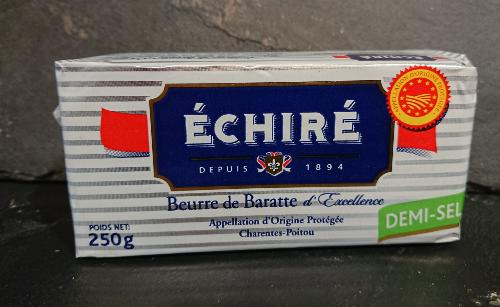 Beurre Echiré demi-sel  250g