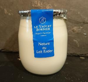 Yaourt Bordier Nature au lait entier