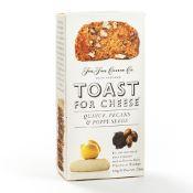 Toast for Cheese Coing, Noix de Pécan et Graines de Pavot