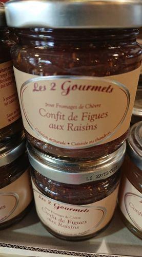 Confit de figues aux raisins