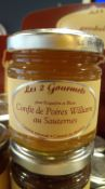 Confit de poires williams au sauternes