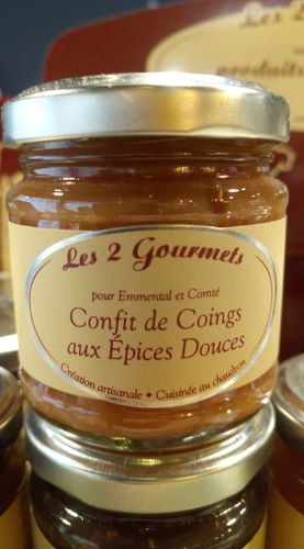Confit de coings aux épices douces