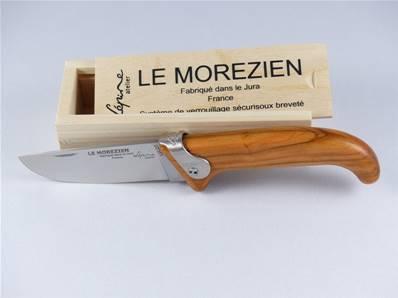 Couteau le MOREZIEN manche olivier