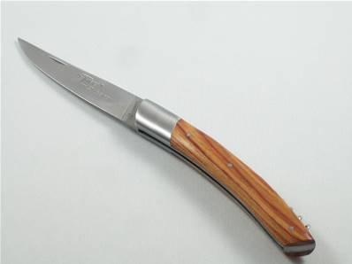 Couteau Le THIERS tire-bouchon 12cm bois de rose Le Sabot