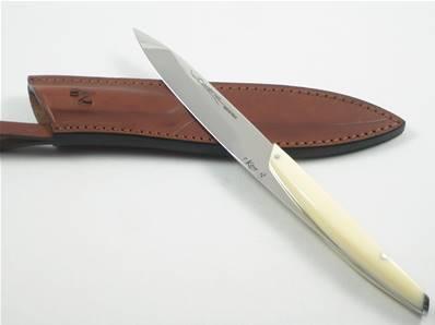 Couteau CARENE avec étui cuir de Neptunia