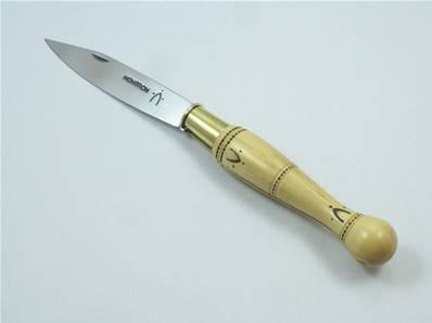 Couteau pliant NONTRON n.25 buis manche boule