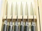 6 couteaux de table Laguiole Harmony au Sabot