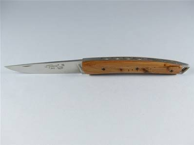 Couteau Le THIERS 12cm manche genévrier Locau