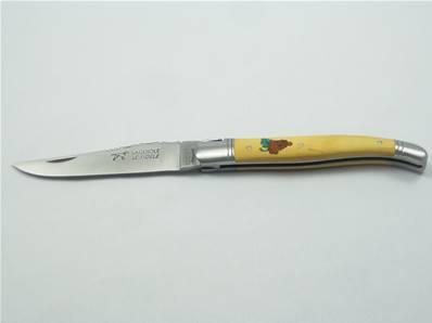 Couteau LAGUIOLE le Fidèle motif grappe de raisin