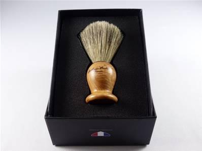 Blaireau manche bois de cade Gentleman Barbier