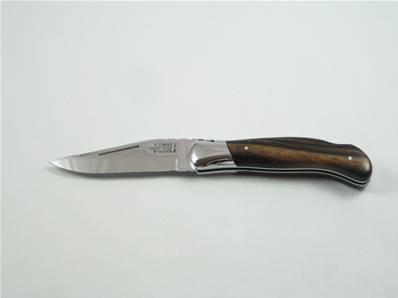 Couteau de chasse LAGUIOLE G.DAVID 12cm ébène