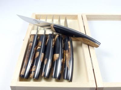 6 couteaux de table TRENDY par Locau