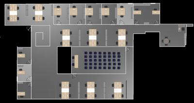 Avec Hyperburo, le plan de votre futur aménagement de bureau