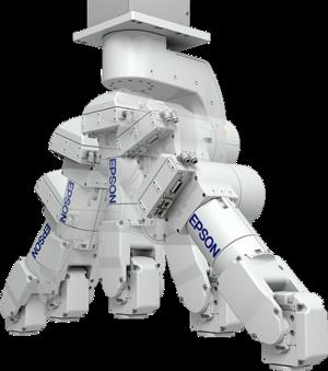 Un robot industriel Epson
