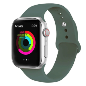 Bracelet pour  Apple Watch en silicone