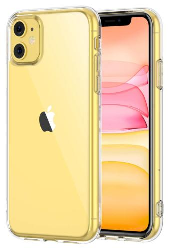 Coque invisible ultrafine transparente pour iPhone 11