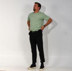N°1 - Green t-shirt organic cotton